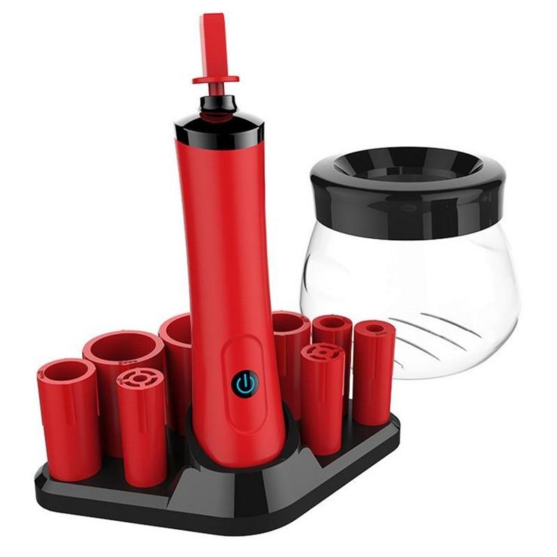 1PC urządzenie do czyszczenia pędzli i suszarka zestaw wygodne silikonowe pędzle do makijażu mycia urządzenia do oczyszczania maszyna 20 #